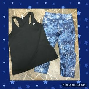 Women's Under Armour Tank & Compression Leggings